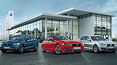 Browse the complete BMW range.